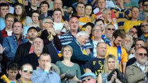 Mansfield town fans and players