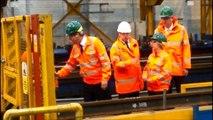 David Cameron visits the region