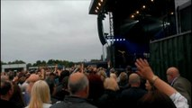 Simply Red - simply amazing say fans as band perform at cricket ground.