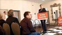Jacob Rees-Mogg says 'Vote Leave'