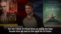 Daniel Radcliffe on Harry Potter's house