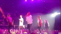 Burnley schoolgirl dances on stage with Justin Bieber