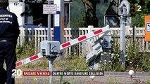 Marne : quatre morts lors d'une collision entre une voiture et un TER