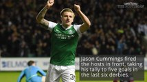 Hibs break Hearts in Scottish Cup replay
