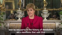 Scottish independence_ Nicola Sturgeon announces second referendum plans