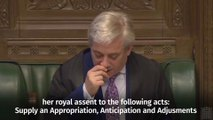 Bercow announces Article 50