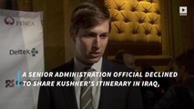 Jared Kushner travels to Iraq with joint chiefs of staff