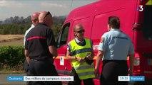 Sécheresse : plusieurs incendies dans le sud de la France