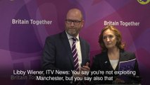 Journalists booed at Ukip event