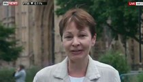 Caroline Lucas on Michael Gove as environment minister