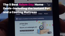 The 5 Best Prime Day Home Deals—Including the Instant Pot and a Cooling Mattress