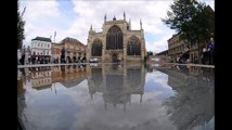 Mirror Pools Trinity Square, Hull