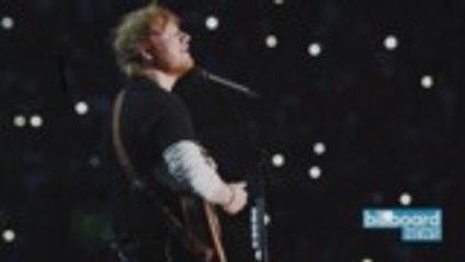 Ed Sheeran Releases 'South of the Border' Lyric Video Feat. Camilla Cabello, Cardi B   Billboard News