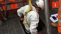 inews went inside the Fatburg-infested sewers of London