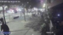 Acid attack caught on CCTV