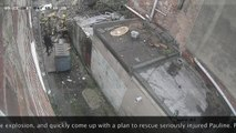 Charles Street explosion in Blackpool