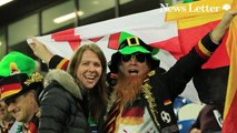 Fan Pics - Supporter Action from the World Cup Qualifier