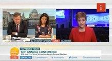 Sturgeon / Piers Morgan on NHS
