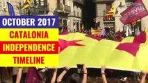 Catalonia Timeline Oct 2017