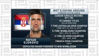Tiki and Tierney: Novak defeats Federer for fifth Wimbledon title