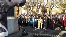 Blyth remembers the fallen