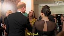 Beyoncé and JAY-Z Meet Meghan Markle at 'Lion King' Premiere