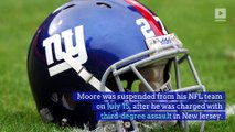 Kamrin Moore Suspended by New York Giants