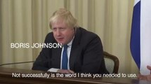Boris Johnson clashes with Russian minister over Moscow interference in UK polls