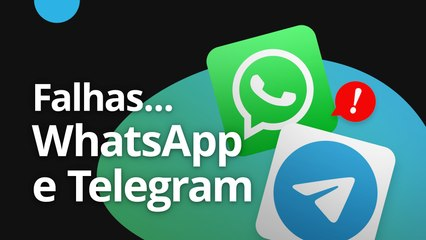Falhas no WhatsApp e Telegram [CT News]