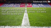 Murrayfield and Hampden Park to battle to become the home of Scottish football