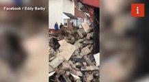 Skip boss empties fifteen tonnes of rubbish onto customer's garden