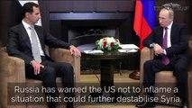Syria Gas Attack Explainer