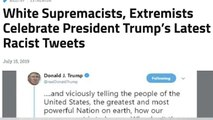 Analyzing the impact of Trump's Twitter rant on extremists online