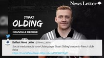 Social Media Reacts to Ex-Ulster Player Olding's Move to French Club Brive - HIRES