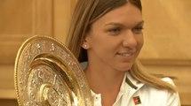 Romania welcomes home Wimbledon champion Halep