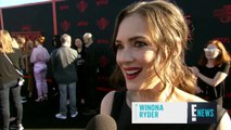 Winona Ryder Gushes Over Ethan Hawke's Daughter  E! Red Carpet & Award Shows