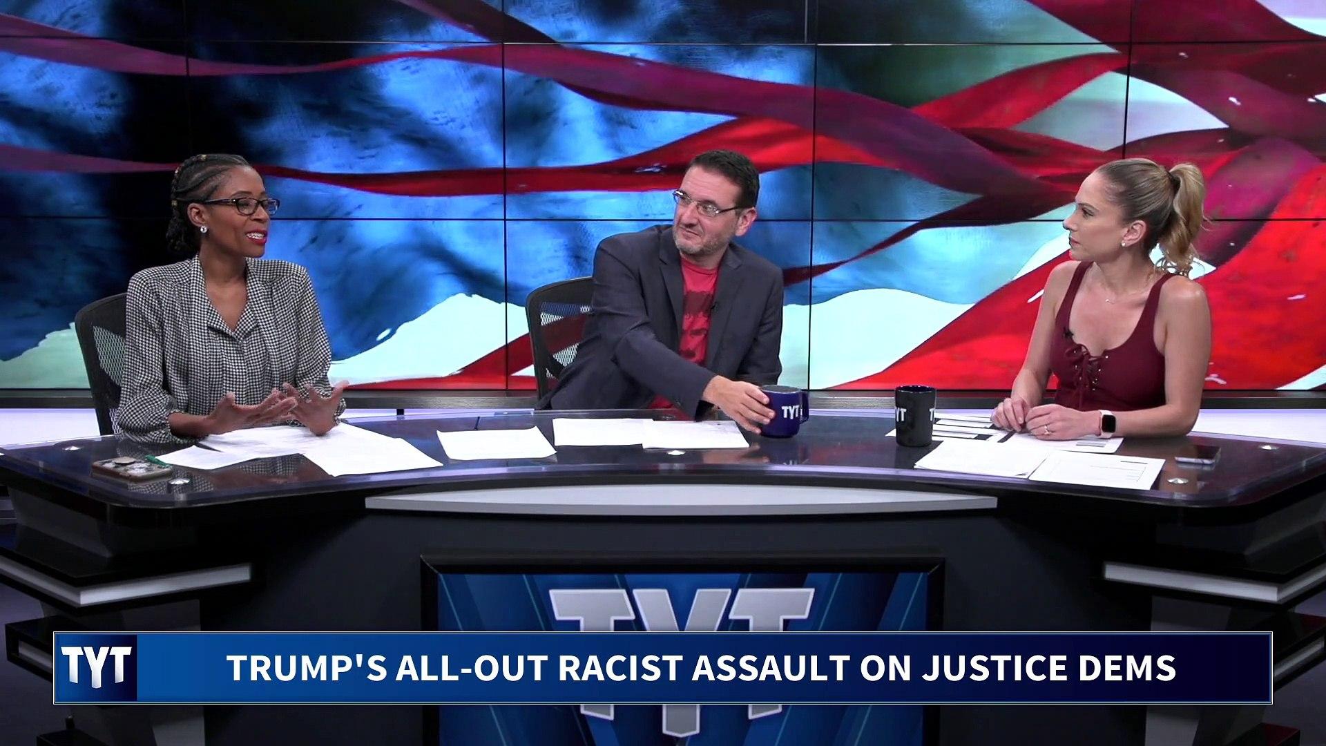Trump's Racist Assault On Justice Democrats