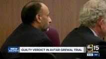 Guilty verdict in Avtar Grewal trial