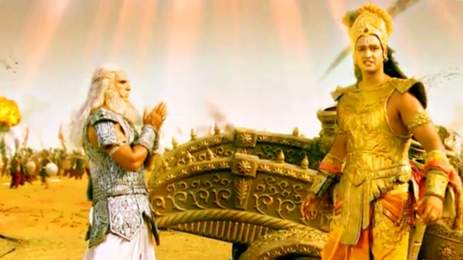 Life Changing Conversation Between Krishna And Bhishma Hd Video Dailymotion