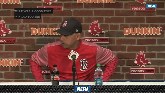 "Alex Cora Reveals Red Sox ""Found Something"" During Rick Porcello's Outing"