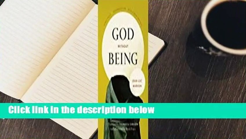 About For Books  God Without Being: Hors-Texte  Review