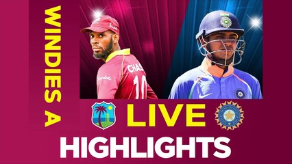 Windies A vs India A - Match Highlights _ 1st ODI 2019 _ India A Tour of West Indies !