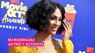 MJ Rodriguez es actriz y también activista LGTBQ+