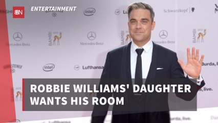 Robbie Williams' Daughter Is Funny