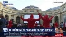 """Des fans de """"La Casa de Papel"""" découvrent (en avant-première) la saison 3... à la Monnaie de Paris"""
