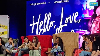 Kathryn Bernardo on his relationship with Daniel Padilla while working on her new movie with Alden