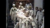 Il y a 50 ans, Neil Armstrong, Buzz Aldrin et Michael Collins s'envolaient pour la Lune