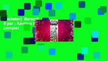 [acheter]  Berserk, Vol. 5 par ; Kentaro Miura Livre complet