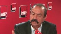 """Philippe Martinez, secrétaire général de la CGT sur le dossier Ascoval : """"""""On essaie de mettre un pansement sur une jambe de bois"""""""