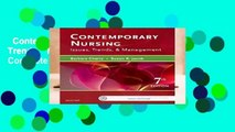 Contemporary Nursing: Issues, Trends,   Management, 7e Complete